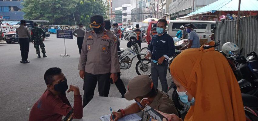 29 pelanggar protokol kesehatan di Tambora diberi sanksi sosial membersihkan fasilitas umum