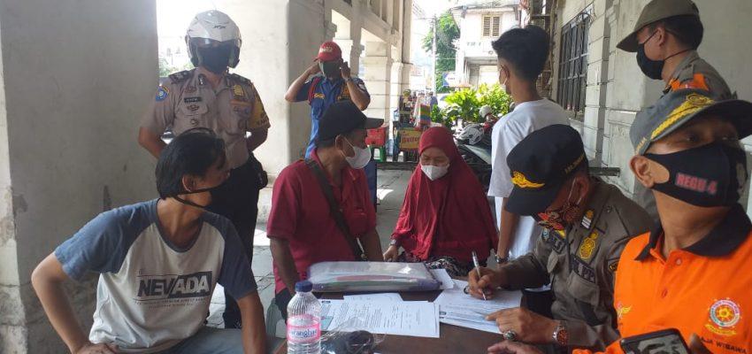 19 pelanggar prokes ditambora diberi sanksi sosial