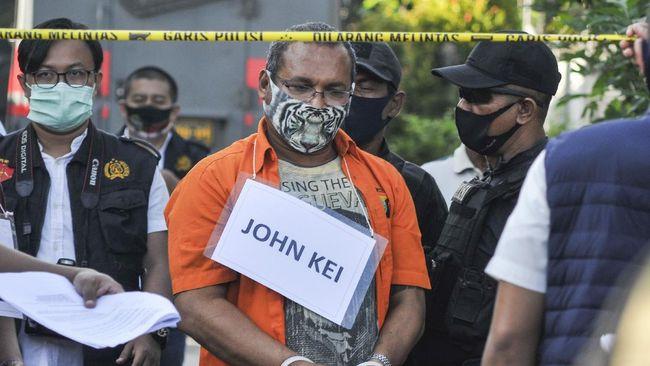 John Kei Dijadwalkan Jalani Sidang Dakwaan Pada 13 Januari 2021 Di Pengadilan Negeri Jakarta Barat